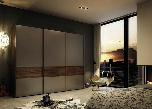 porte-de-dressing-coulissante-pour-une-chambre-à-coucher-contemporaine