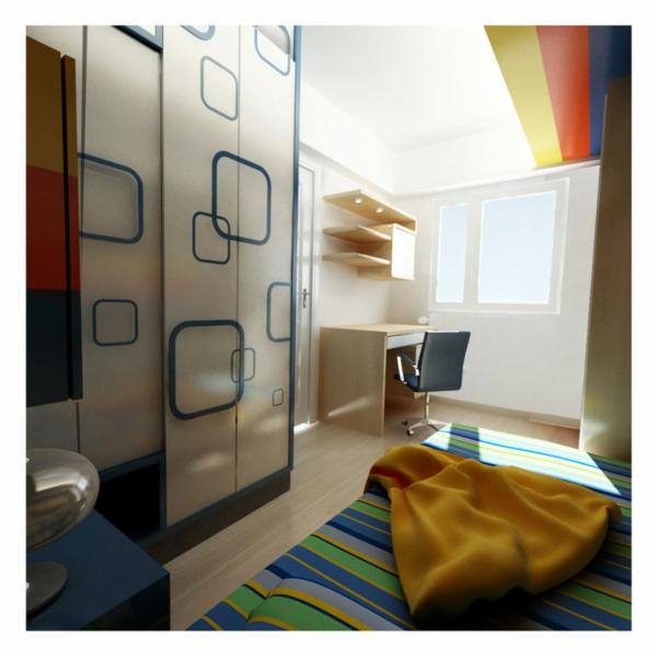 La porte de dressing coulissante garantit un style moderne - Dressing pour chambre mansardee ...