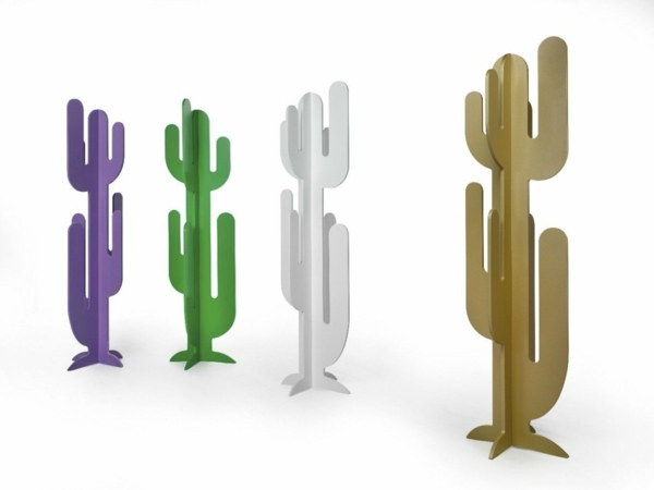 porte-manteau-cactus-design-unique