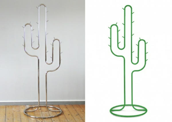 porte-manteau-cactus-vert-et-metalique