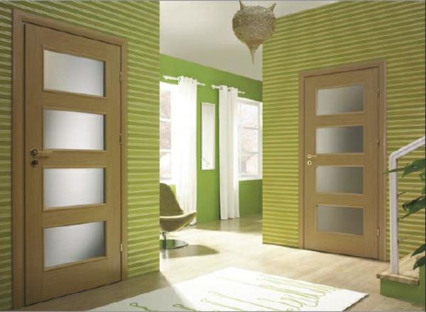 portes-d'intérieures- design-noyer-claire