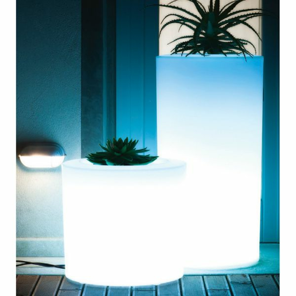 pot-de-fleur-lumineux-deux-pots-cylindriques