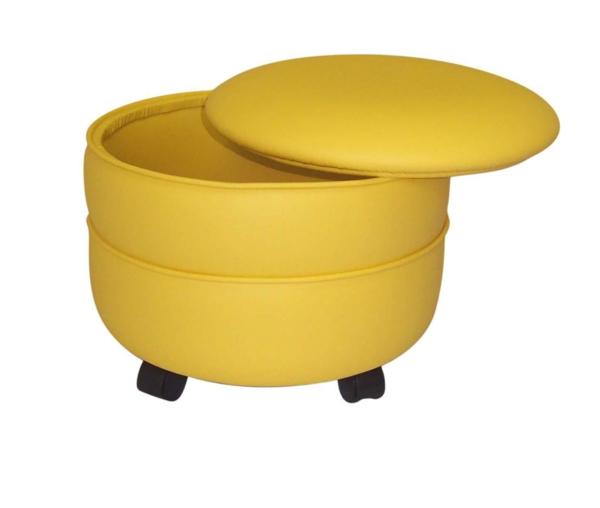 le pouf avec rangement. Black Bedroom Furniture Sets. Home Design Ideas