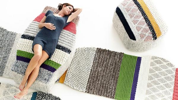 pouf-tricot-confortable