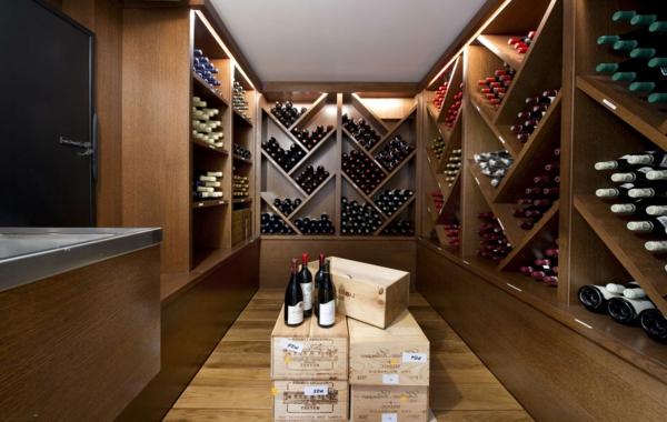 rangement-bouteilles-de-vin-étagères-diagonales