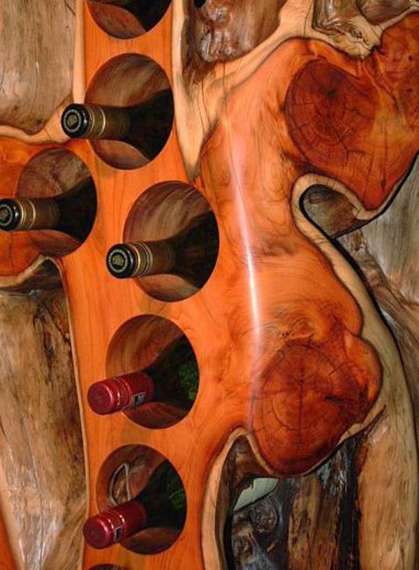 rangement-bouteilles-de-vin-bois-solide-laqué