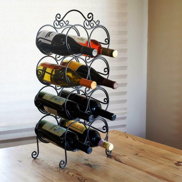 rangement-bouteilles-de-vin-en-formes-douces