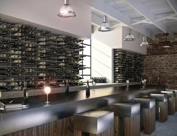 rangement-bouteilles-de-vin-intérieur-moderne