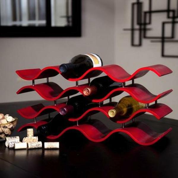 rangement-bouteilles-de-vin-un-rack-à-vin-rouge