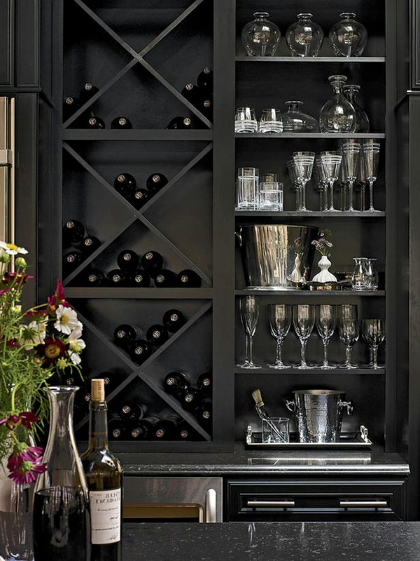 le rangement bouteilles de vin concepts modernes. Black Bedroom Furniture Sets. Home Design Ideas