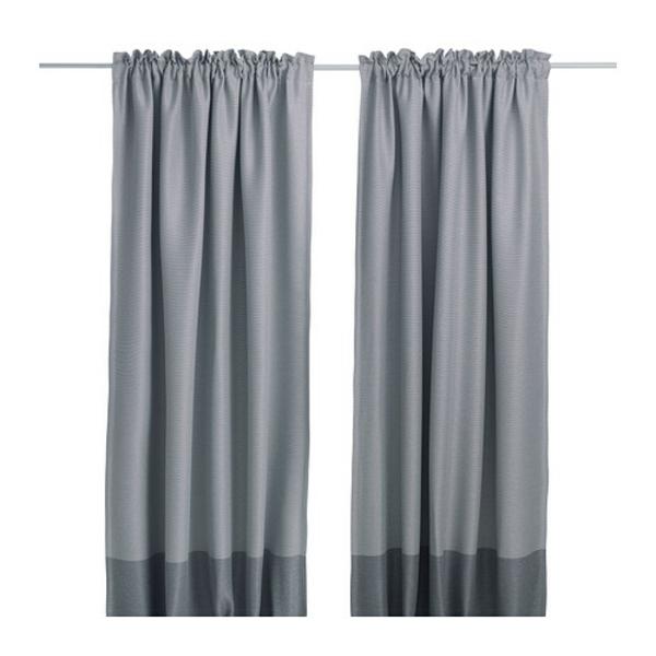 rideaux-ikea-marjun-Les rideaux permettent d'assombrir la pièce et préservent l'intimité