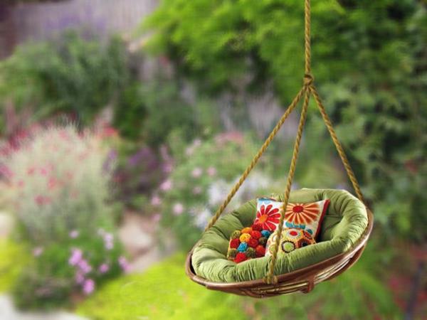 rond-coussin-de-chaise-pour-le-jardin