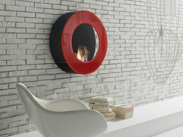 rouge-cheminée-mural-au-ethanol