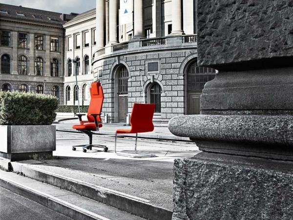 rouge-fauteuil-de-bureau-ergonomique