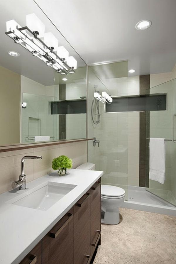 le plafonnier de salle de bain chrom. Black Bedroom Furniture Sets. Home Design Ideas