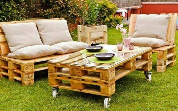 Voltigierpferd Holz Bauanleitung ~ Le salon de jardin en palette est une invention originale et belle qui