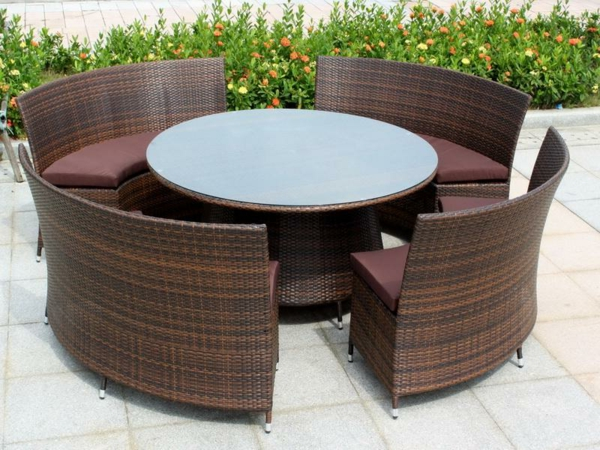 Table de jardin en resine ovale des id es for Table de jardin en resine blanche