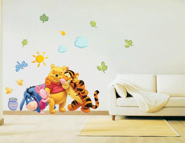 stickers-pour-chambre-bébé-Winnie-the-Pooh