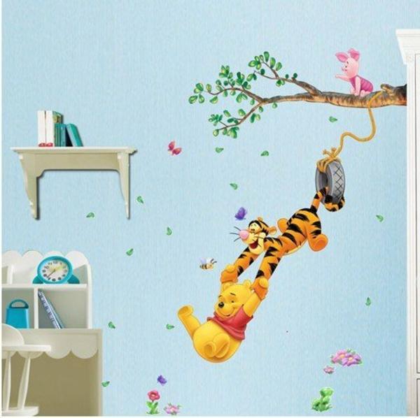 stickers-pour-chambre-bébé-avec-Winnie-the-Pooh