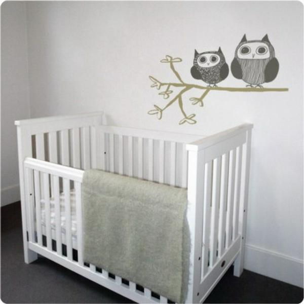Avec les stickers pour chambre bébé vous allez créer une ambiance jolie et am