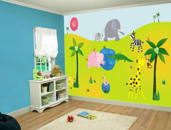 stickers-pour-chambre-bébé-en-couleurs-joyeuses