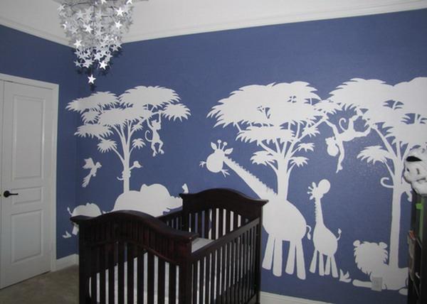 stickers-pour-chambre-bébé-les-animaux-d'Afrique