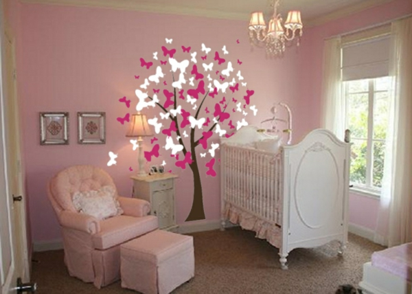 Chambre Bebe Fille Stickers