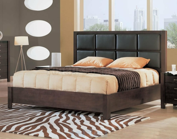 une t te de lit capitonn e pour un beau style de votre. Black Bedroom Furniture Sets. Home Design Ideas