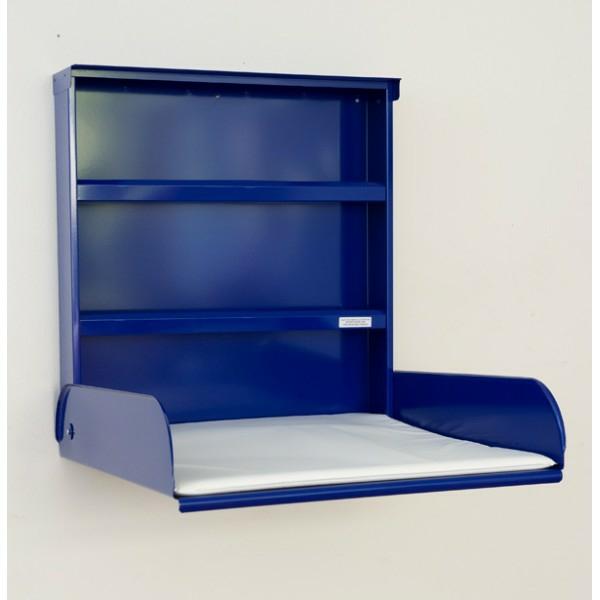 table-a-langer-murale-bleue-fifi-par-bybo-en-metal-