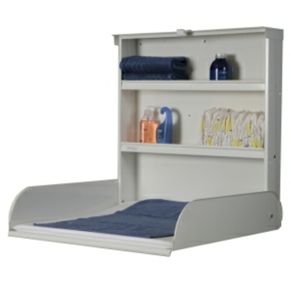 table langer murale bois cintr. Black Bedroom Furniture Sets. Home Design Ideas