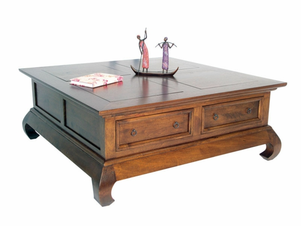 La table basse opium - Table basse opium carre ...