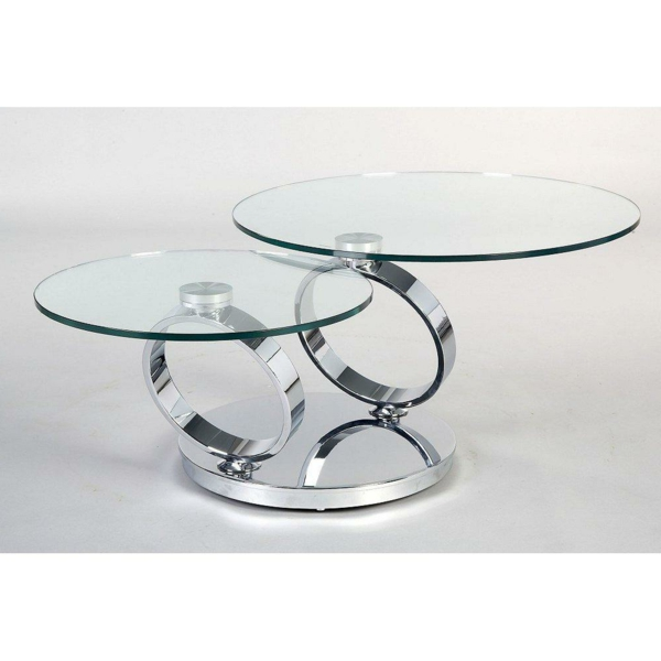 Table Basse Design Ovale Maison Design