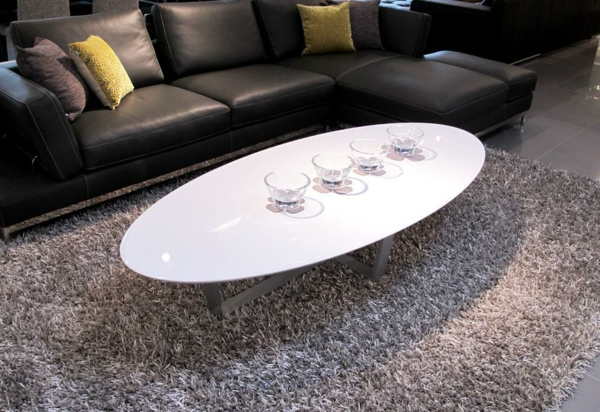 table-basse-ovale-design-simple