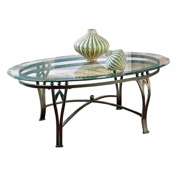 Table Basse Moderne Ovale