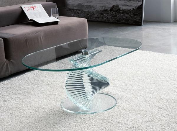la table basse ovale variantes modernes d 39 un meuble. Black Bedroom Furniture Sets. Home Design Ideas