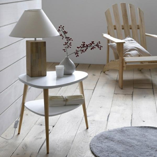 Objets et design pour faire d coration scandinave for Table basse scandinave rose