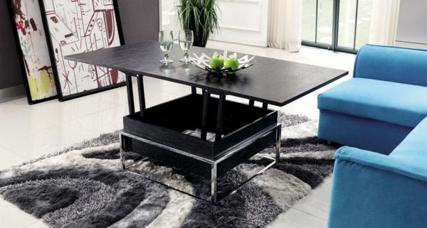 table-de-salon-relevable-noire-salon