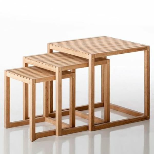 table-gigogne-chene-trois