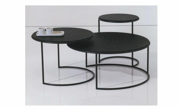 table-gigogne-noir-ronde