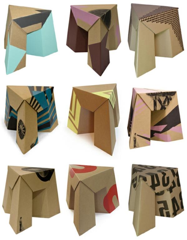 tabouret-en-carton-design