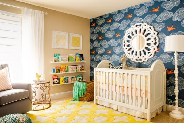 tapis-chambre-bebe-jaune