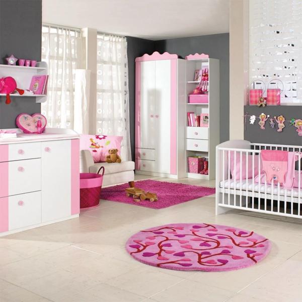 Le tapis chambre b b des couleurs vives et de l - Tapis chambre rose ...
