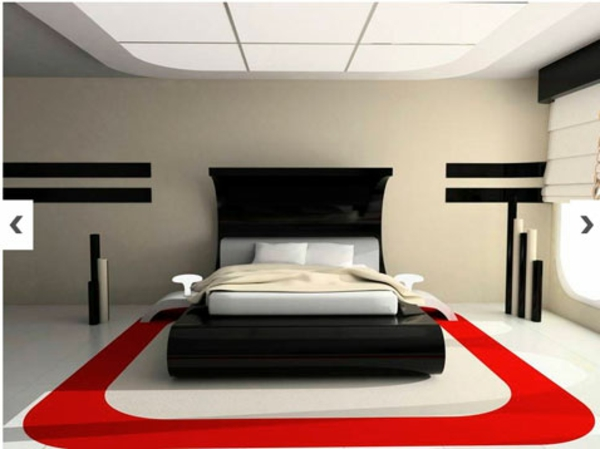 le tapis de sol pour la chambre coucher. Black Bedroom Furniture Sets. Home Design Ideas