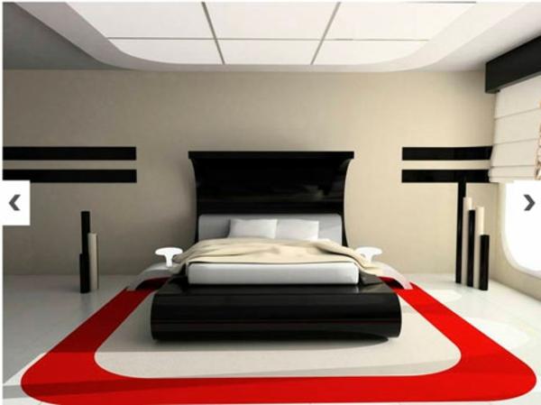 Le tapis de sol pour la chambre coucher for Peindre une chambre adulte