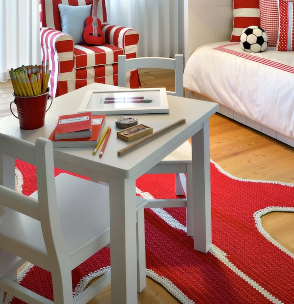 tapis-de-chambre-ado-rouge