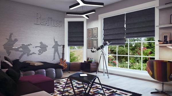 tapis-de-chambre-ado-mosaique