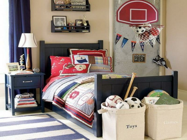 Le tapis de chambre ado style et joyeusit for Room decor for 6 year old boy