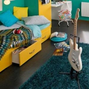 Le tapis de chambre ado - style et joyeusité