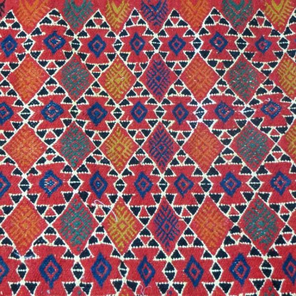 tapis-kilim-laine-losange