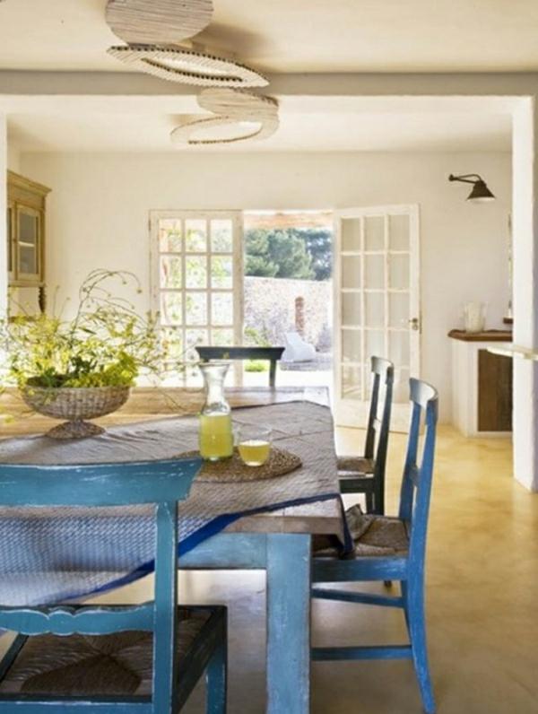 traditionelle-salle-à-manger-design-vintage-